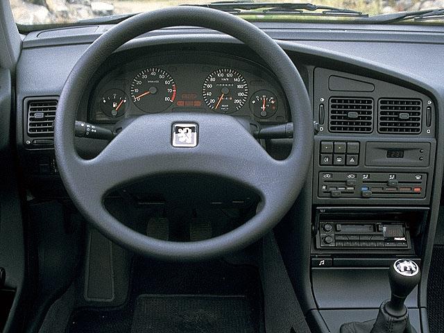 Peugeot 405 voitures sp cifications techniques et la for Interieur 405