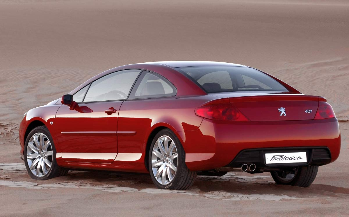 peugeot 407 coupe 2 2 i 16v 160 hp. Black Bedroom Furniture Sets. Home Design Ideas