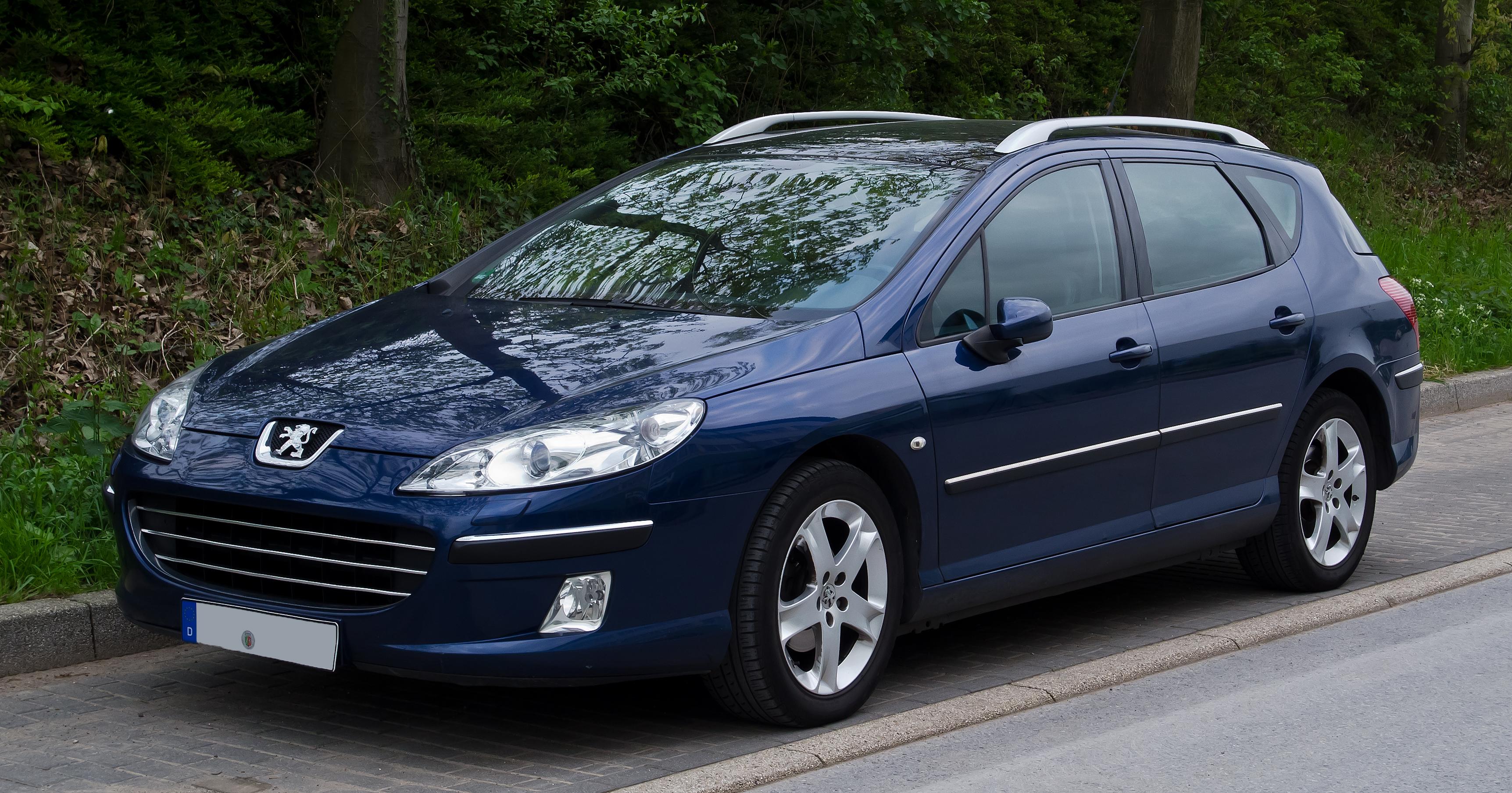 Suzuki Tire Size >> Peugeot 407 SW 1.8 i 16V (116 Hp)