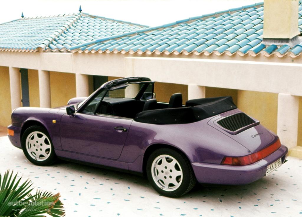 porsche 911 cabrio 964 3 6 carrera 4 250 hp. Black Bedroom Furniture Sets. Home Design Ideas