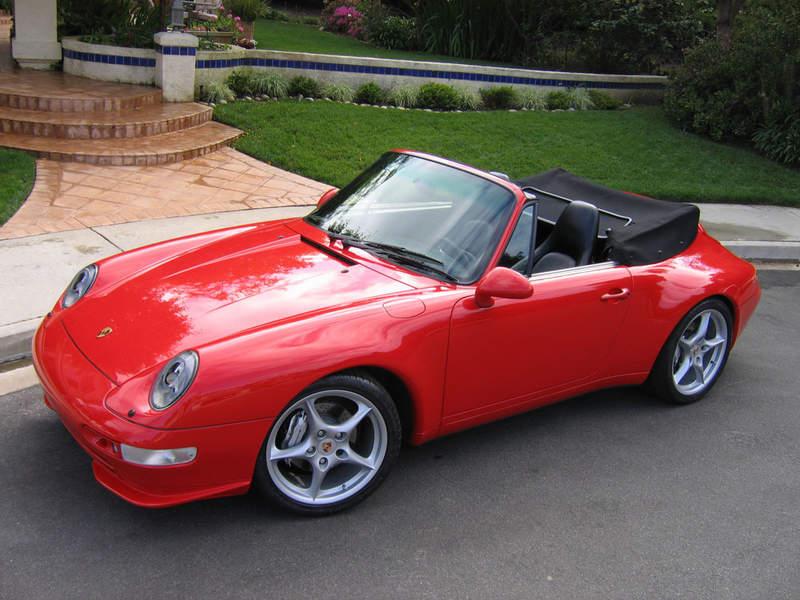 porsche 911 cabrio 993 3 8 carrera 286 hp. Black Bedroom Furniture Sets. Home Design Ideas
