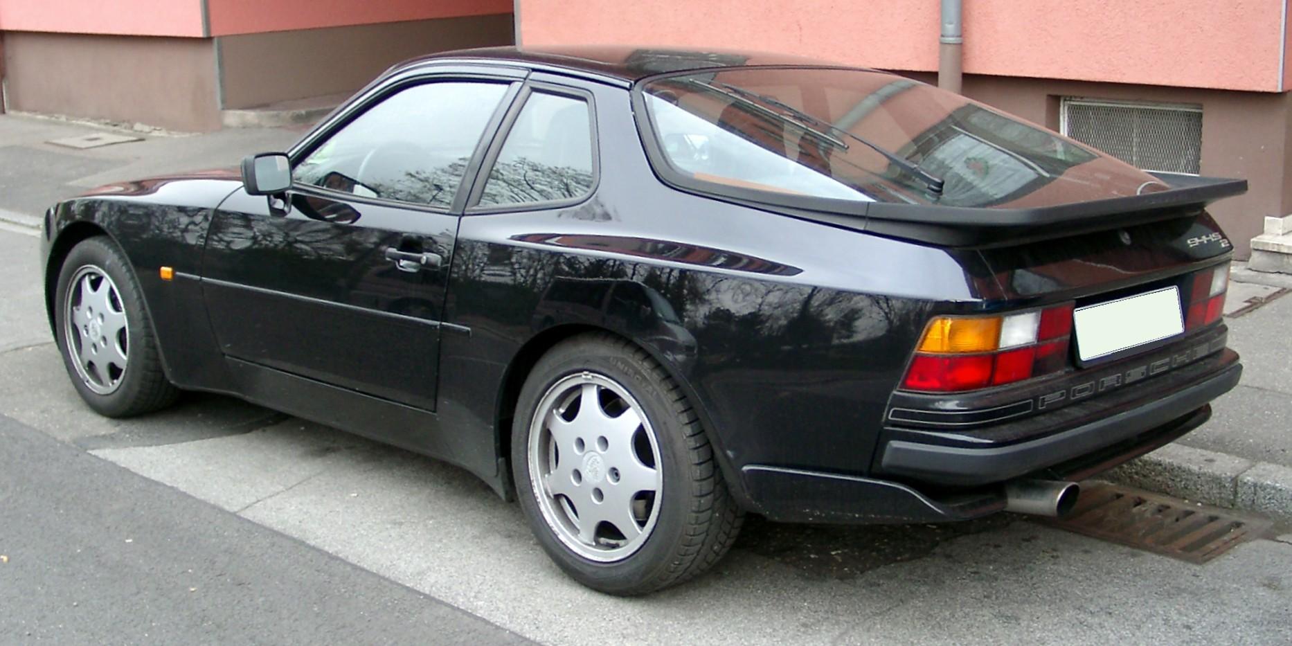 Porsche 944 Sp 233 Cifications Techniques Et 233 Conomie De Carburant