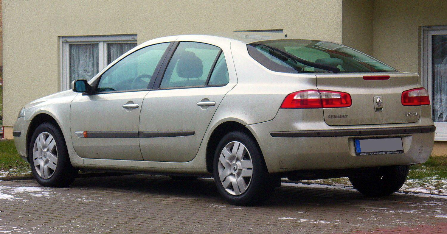 Renault Laguna Technical Specifications And Fuel Economy