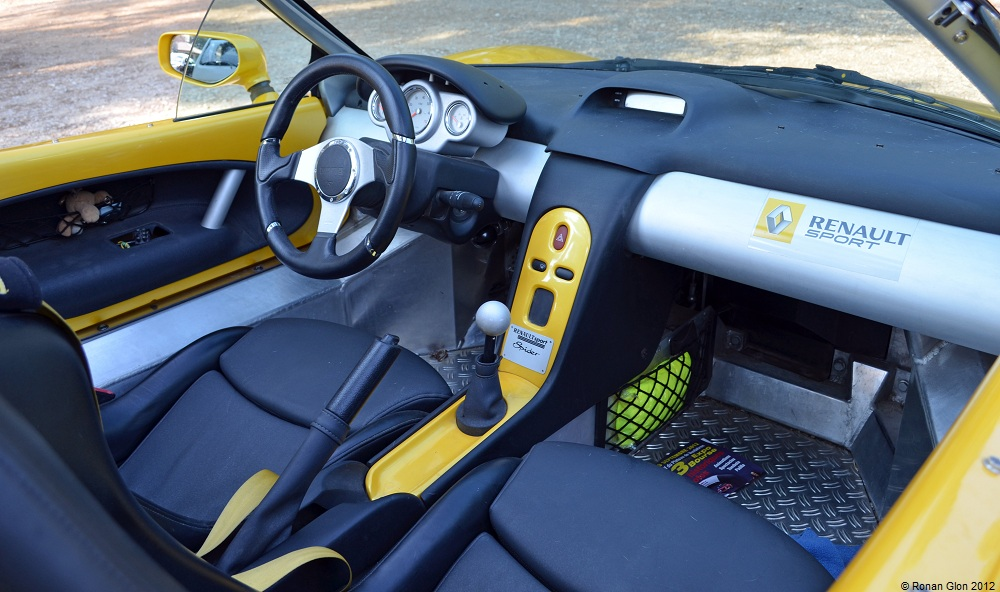 Renault Sport Spider. Engine / modification, Coupe type, Num. of Doors, Power(hp), Fuel Type, Production start(year), Production end(year