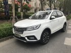 Roewe RX3 Technical specifications and fuel economy
