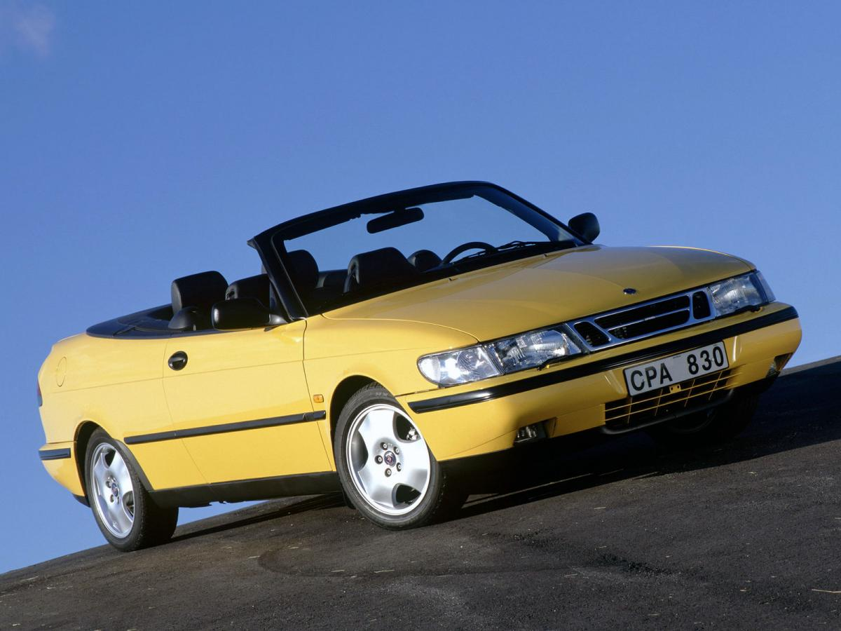 saab 900 ii cabriolet 131 hp. Black Bedroom Furniture Sets. Home Design Ideas