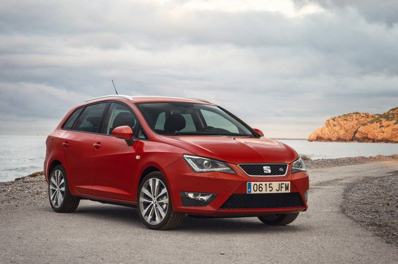 seat ibiza iv st facelift 2015 1 0 eco tsi 110 hp. Black Bedroom Furniture Sets. Home Design Ideas