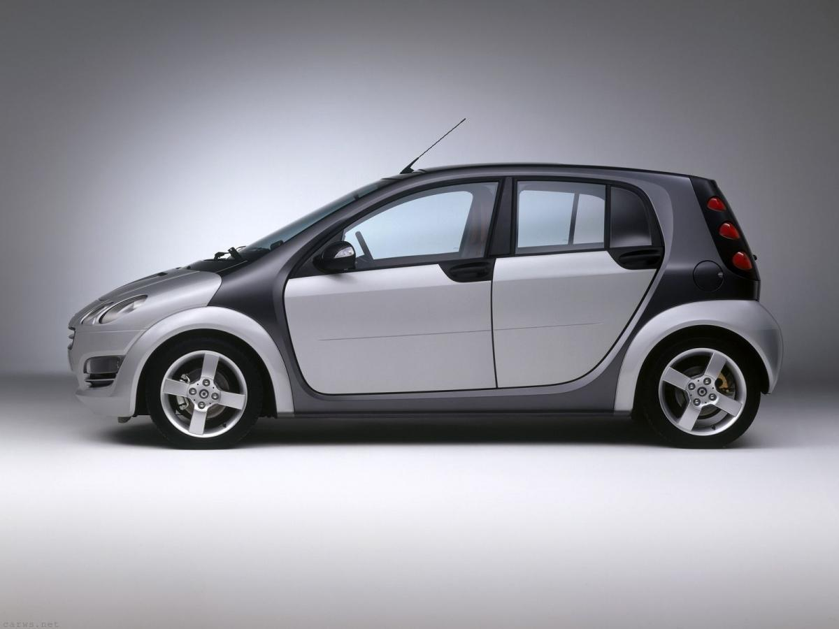 smart forfour sp cifications techniques et conomie de carburant. Black Bedroom Furniture Sets. Home Design Ideas