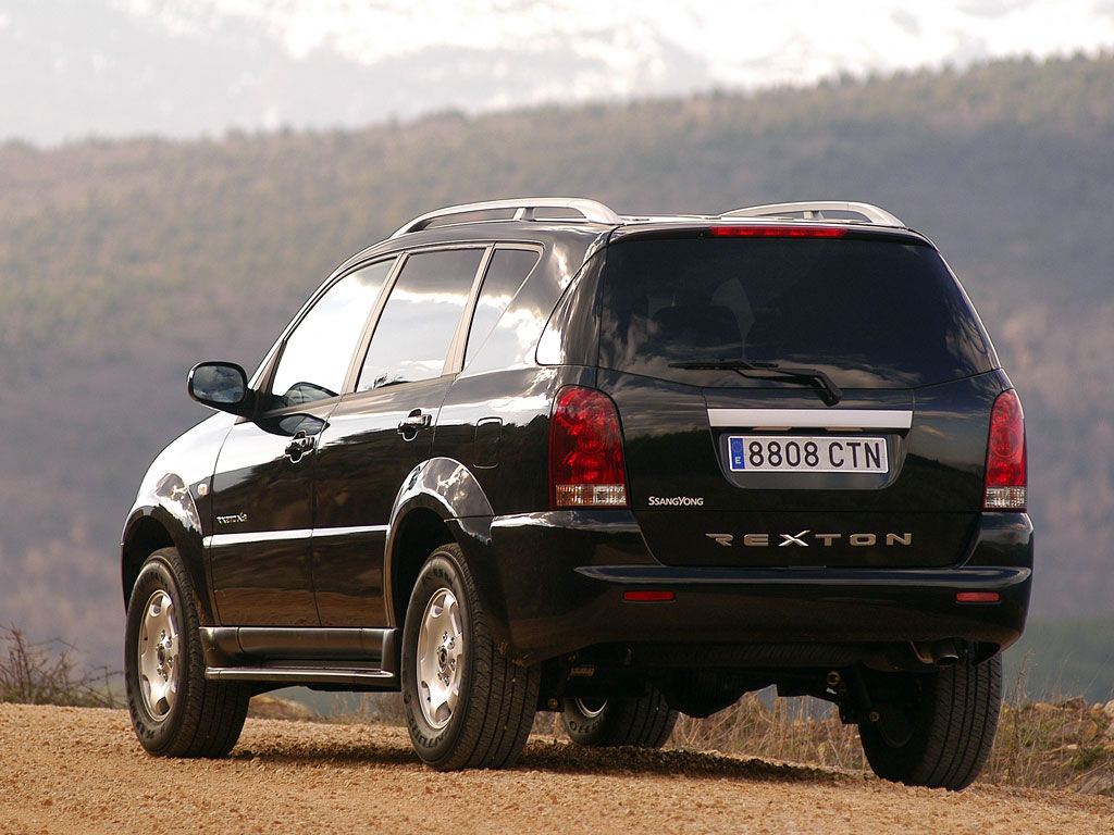ssangyong rexton rx 270 xdi 165 hp. Black Bedroom Furniture Sets. Home Design Ideas