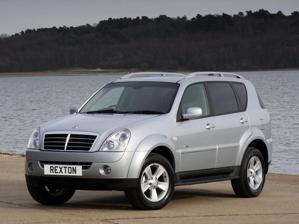 ssangyong rexton ii rx 270 xdi automatic 163 hp. Black Bedroom Furniture Sets. Home Design Ideas