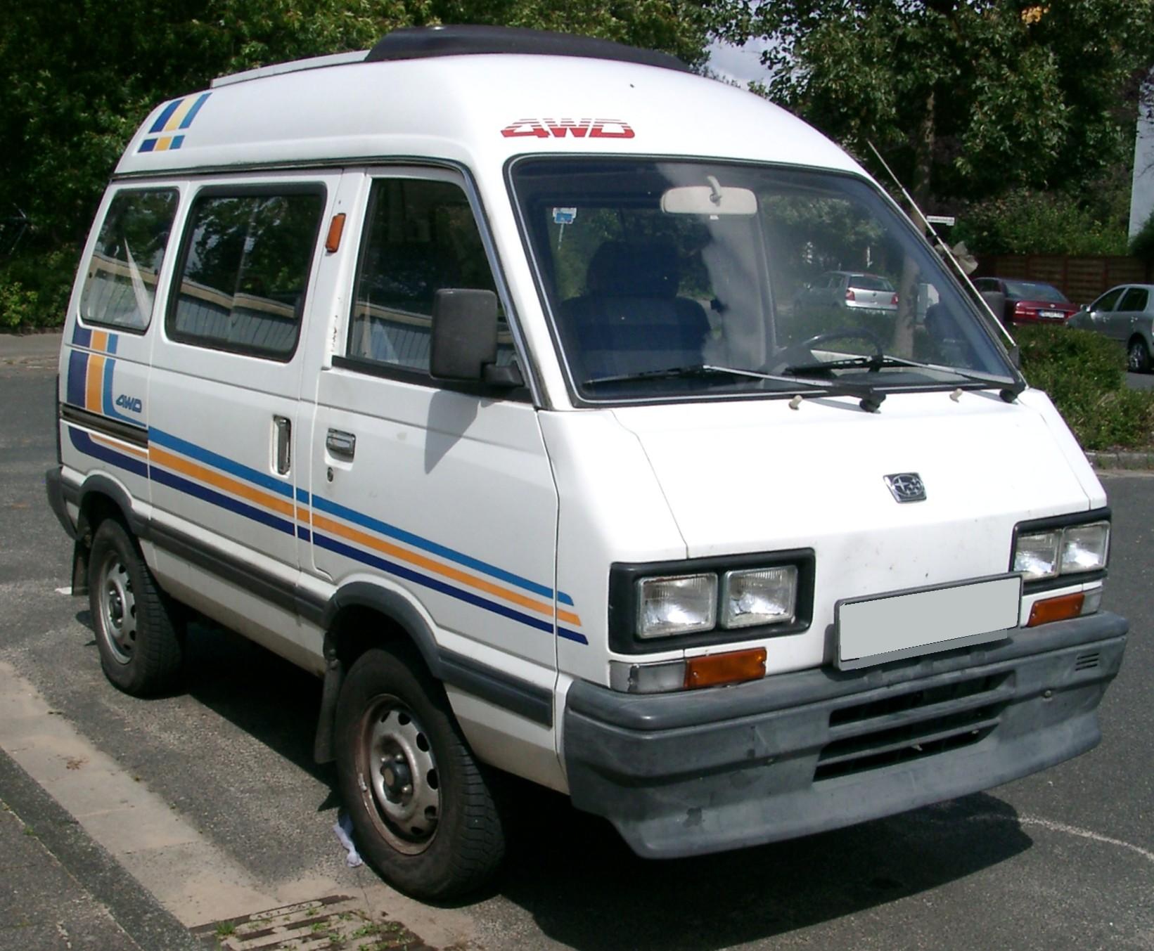 Subaru Libero Bus (E10,E12) 1.2i (54 Hp)