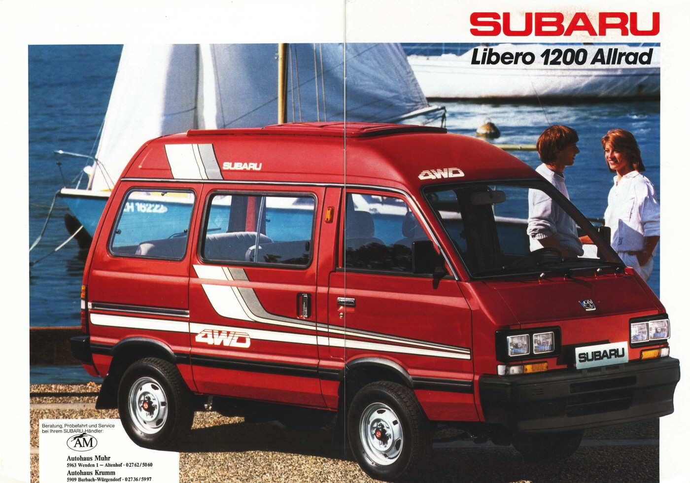 Luggage Rack Car >> Subaru Libero Bus (E10,E12) 1.2i (54 Hp)