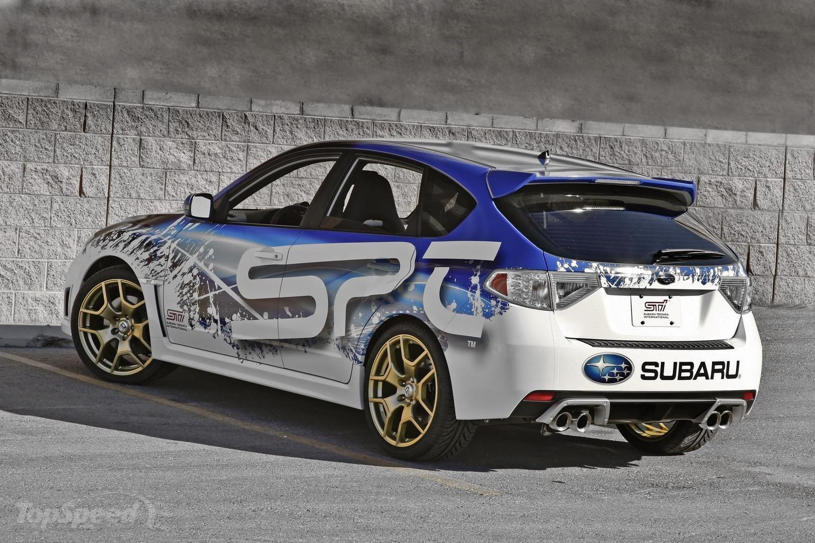 Subaru WRX STI Hatchback 2.5 (300 Hp) Turbo | Technical ...