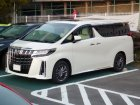 Toyota Alphard Technical specifications and fuel economy