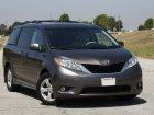 Toyota Sienna Teknik özellikler ve yakıt ekonomisi (tüketimi, mpg)