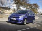 Toyota Verso-S Spécifications techniques et économie de carburant