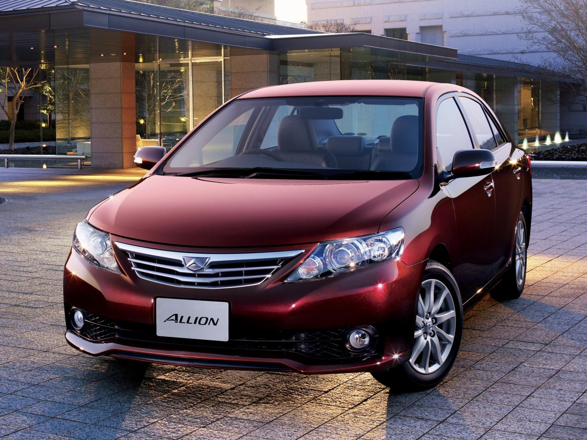 Toyota Models 2015 >> Toyota Allion technical specifications and fuel economy