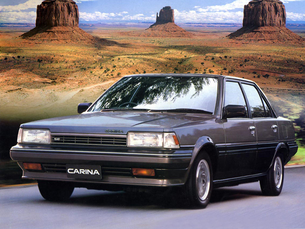Toyota Carina Technical Specifications And Fuel Economy