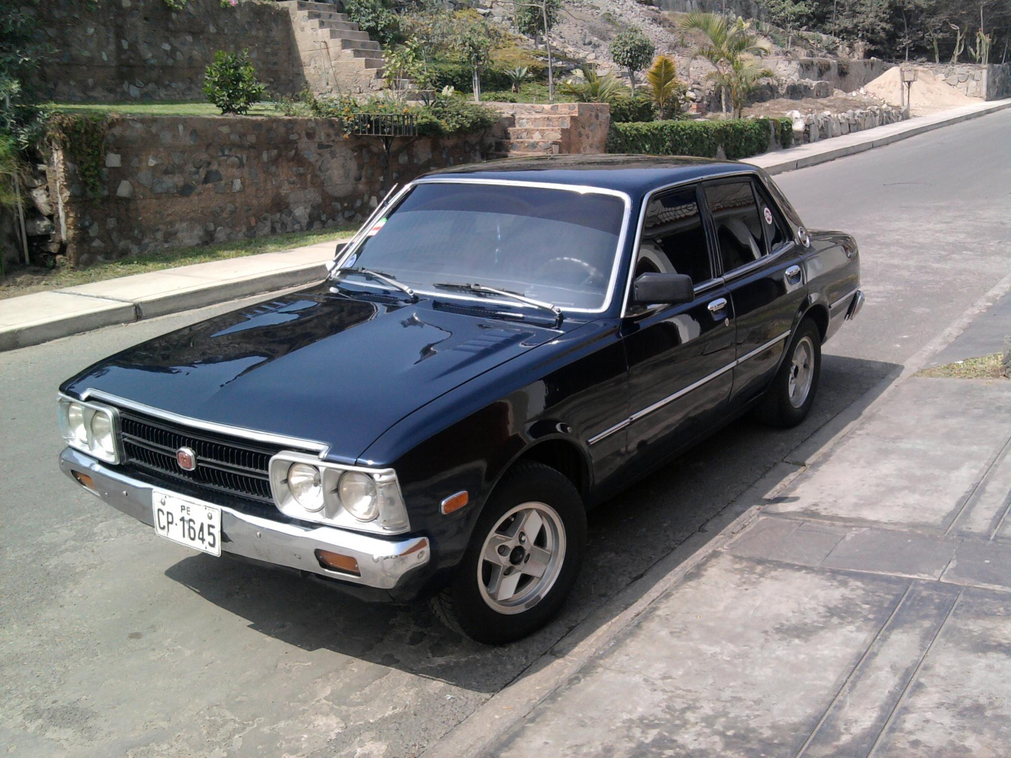 Toyota Corona Technical Specifications And Fuel Economy