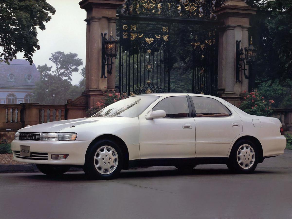 Toyota Cresta Gx90 2 5 I 24v 180 Hp