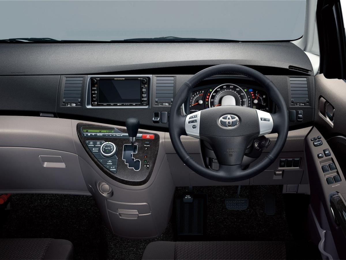 Toyota Isis Technical Specifications And Fuel Economy