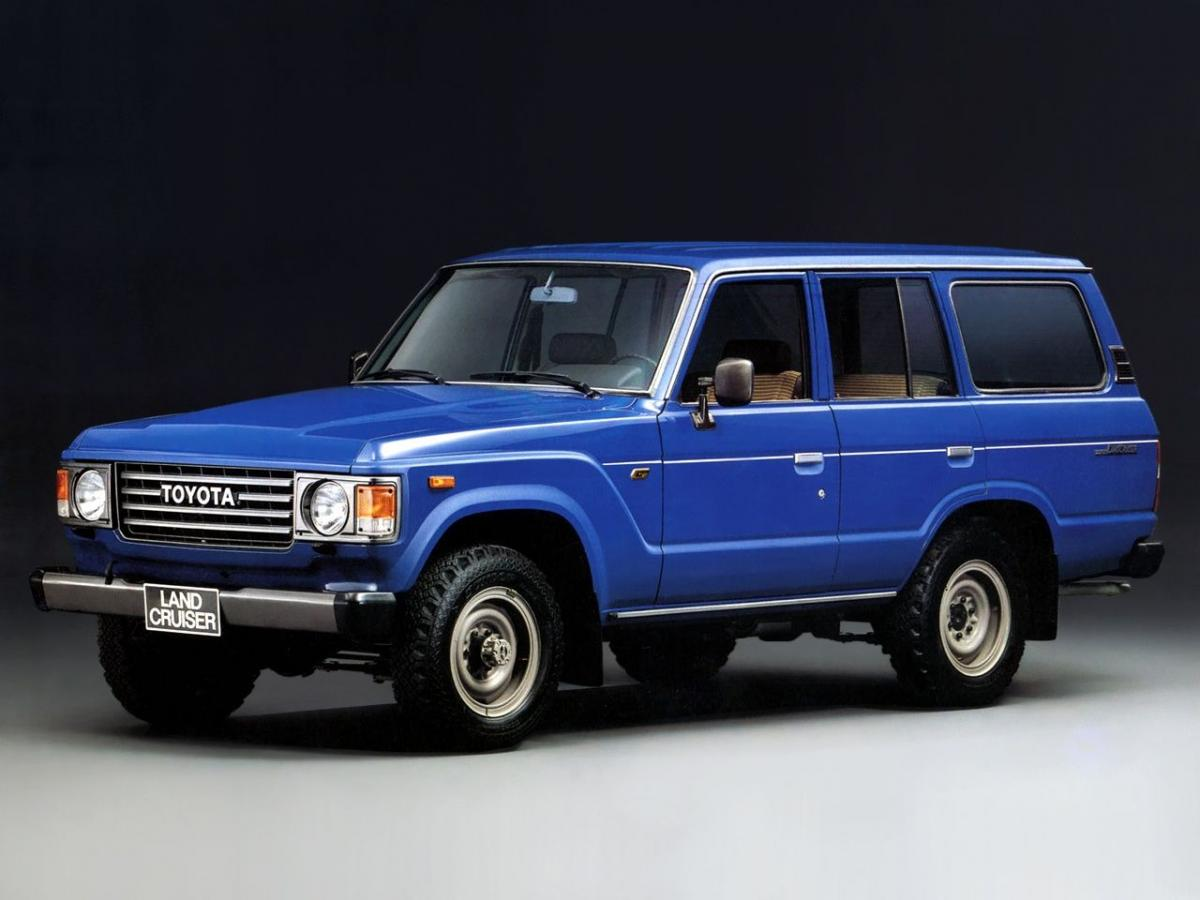 Toyota Land Cruiser 100 J6 4.0 Turbo-D (HJ61) (136 Hp) Technical ...
