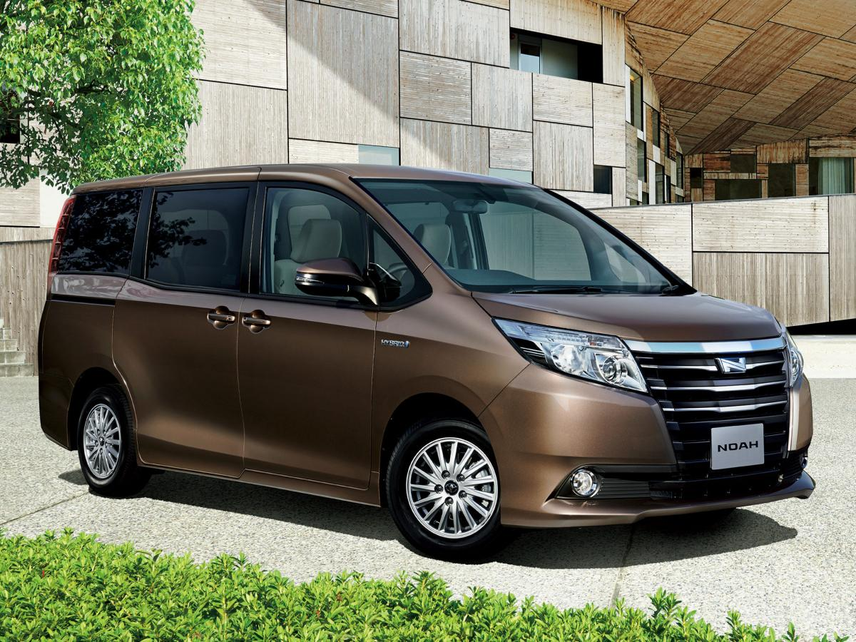 toyota noah technical specifications and fuel economy. Black Bedroom Furniture Sets. Home Design Ideas