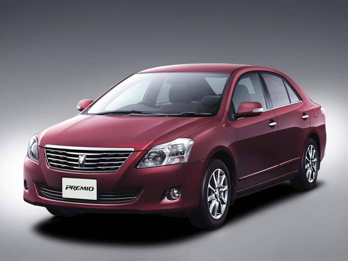 Toyota Premio Technical Specifications And Fuel Economy