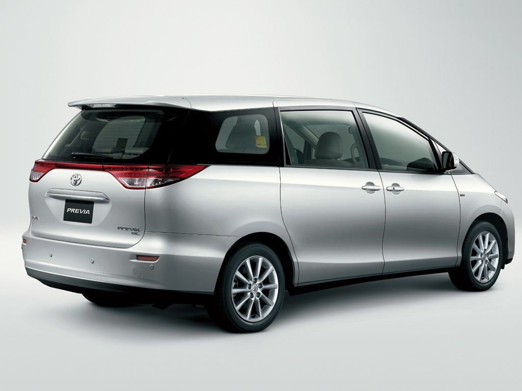 Toyota Previa technical specifications and fuel economy