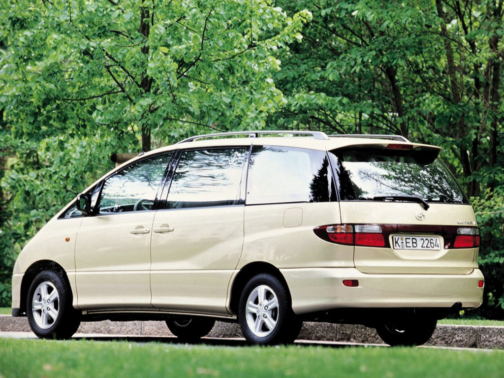 toyota previa technical specifications and fuel economy. Black Bedroom Furniture Sets. Home Design Ideas