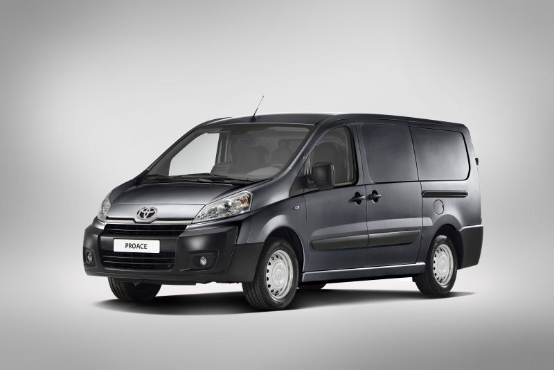 toyota proace technical specifications and fuel economy. Black Bedroom Furniture Sets. Home Design Ideas