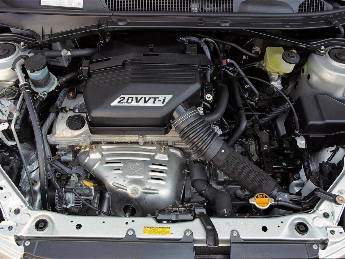 Тойота рав 4 характеристика двигателя