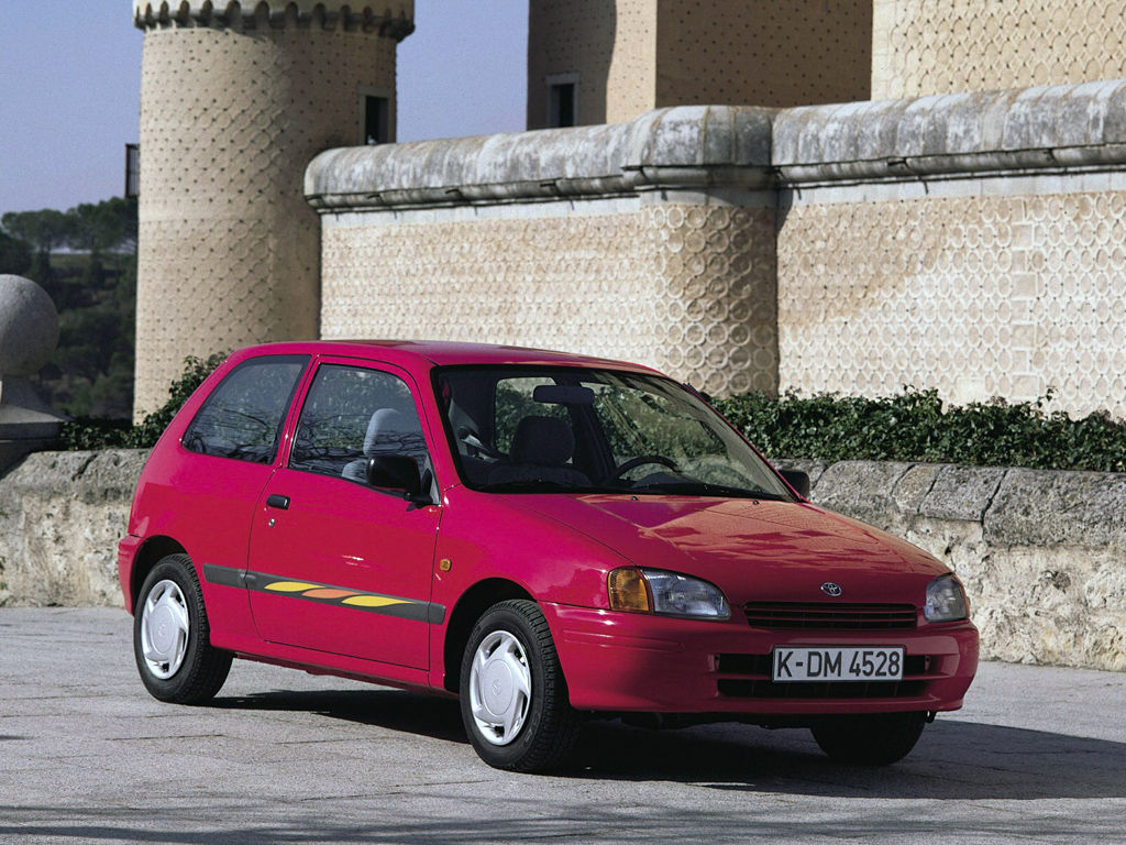 toyota starlet technical specifications and fuel economy. Black Bedroom Furniture Sets. Home Design Ideas