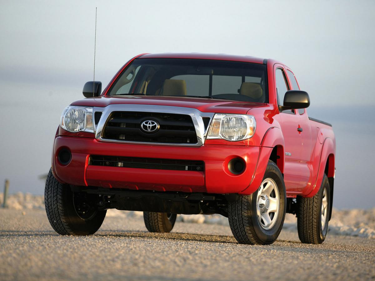 toyota tacoma technical specifications and fuel economy. Black Bedroom Furniture Sets. Home Design Ideas