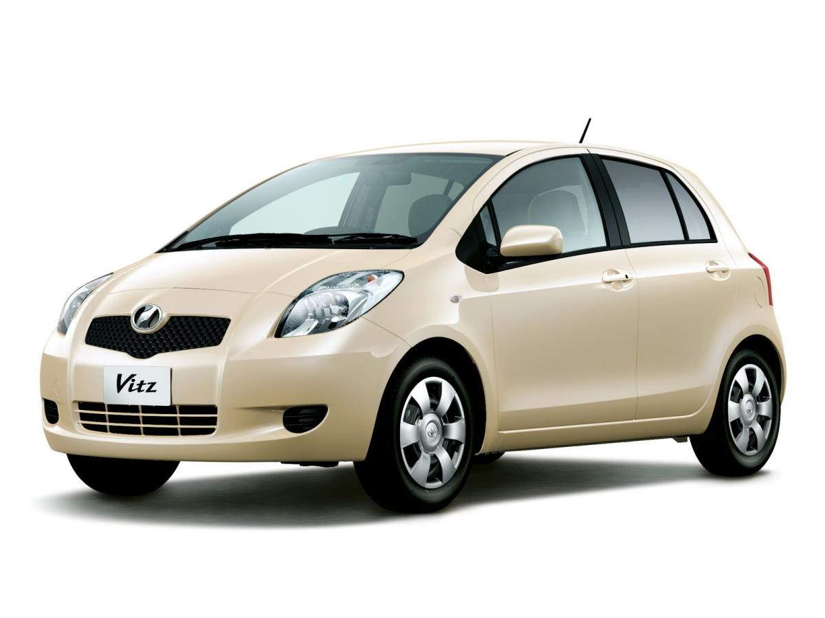 Toyota Vitz Technical Specifications And Fuel Economy