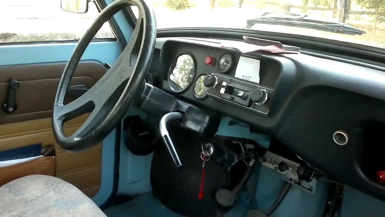 Smart Car Interior >> Trabant P 601 0.6 (23 Hp)