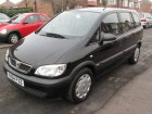 Vauxhall Zafira Technical specifications and fuel economy