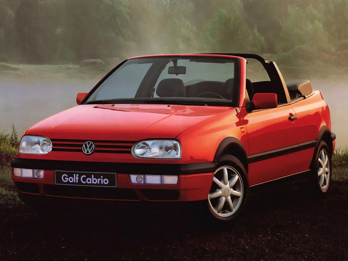 volkswagen golf iii cabrio 1e 115 hp. Black Bedroom Furniture Sets. Home Design Ideas