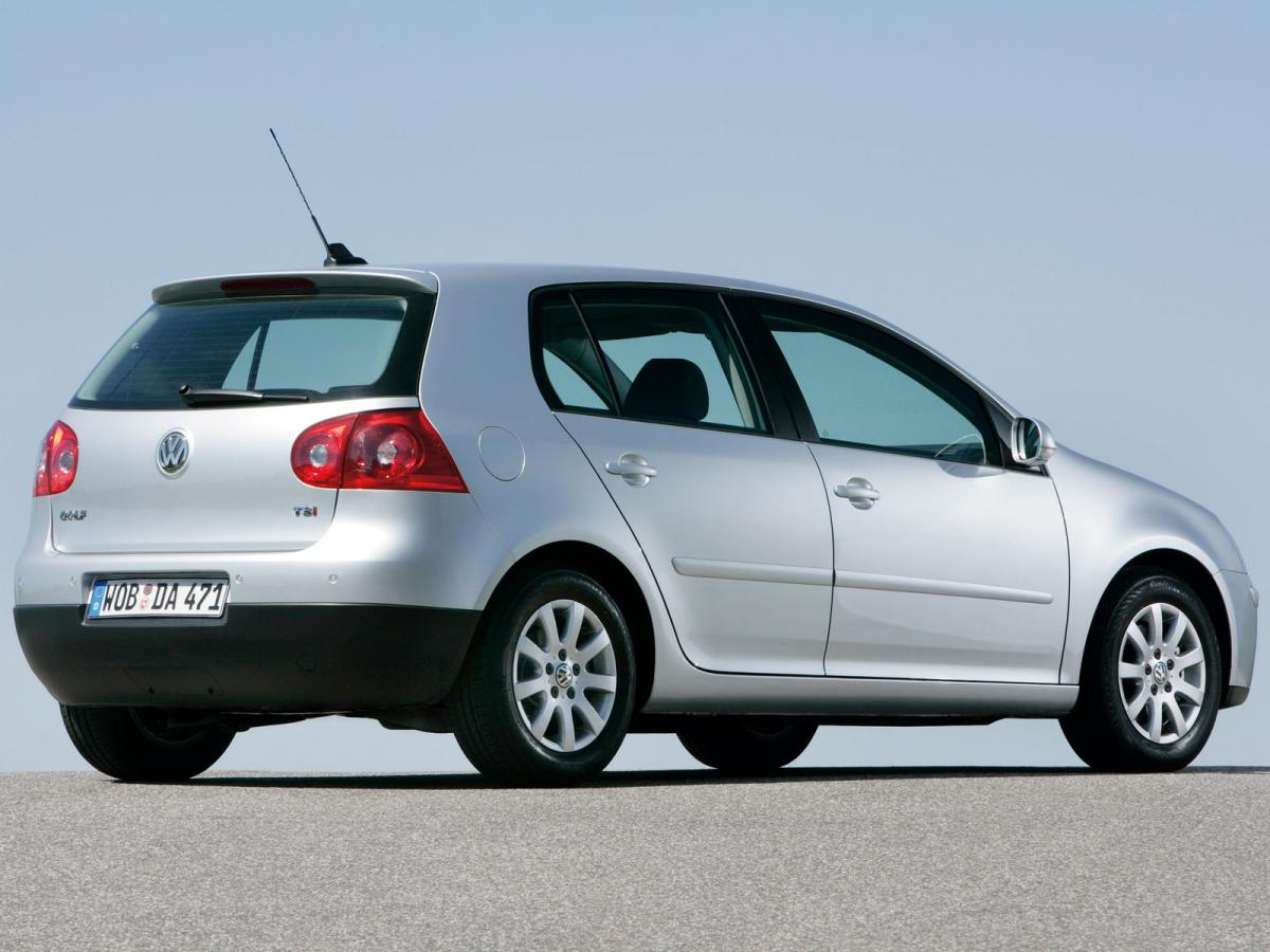 Volkswagen Golf V 1.9 TDI 4Motion (105 Hp) DSG Technical ...